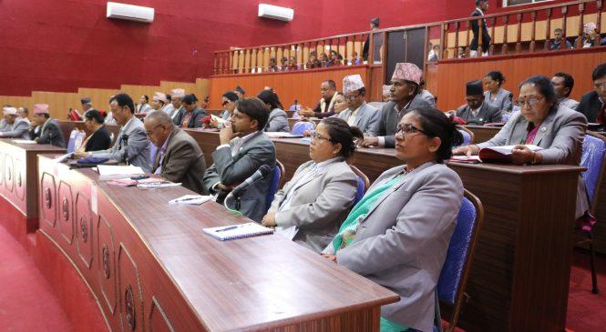 मन्त्री थापालाई संसदमा उपस्थित नगराउने सहमतिमा अघि बढ्यो कर्णालीको बजेट अधिवेशन