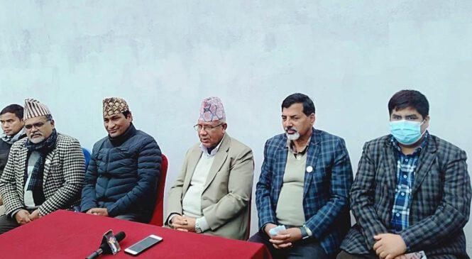 संविधानको पक्षमा कर्णालीको जनलहर उत्रिएको छ : माधव नेपाल
