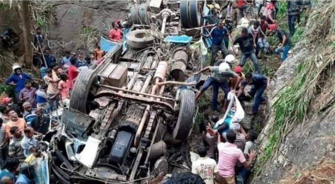 मुगुमा भएको बस दुर्घटनामा मृत्यु भएका ३२ जनाकै सनाखत